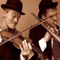 Laurel and Hardy imitator