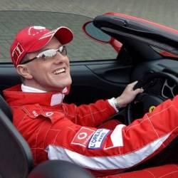 Michael Schumacher look a like