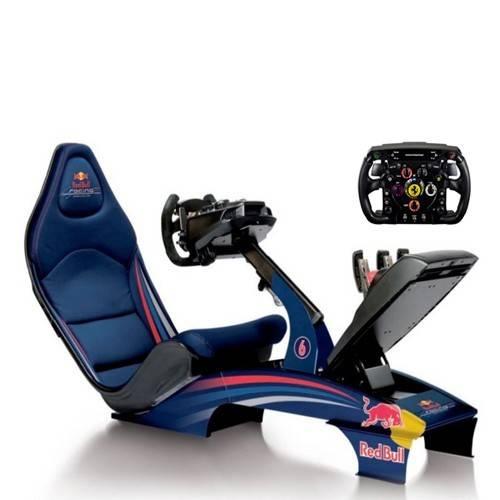 Red Bull f`1 simulator boeken